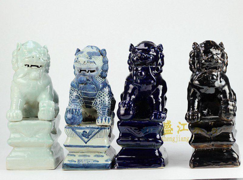 RZGA01雕塑 动物 摆件狮子狗