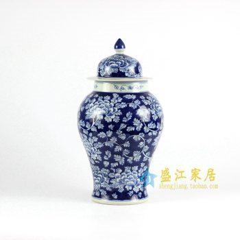 RYLU69-A 青花将军罐