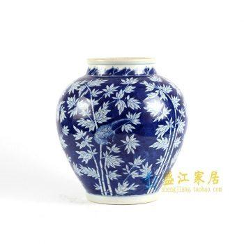 RYLU85 手绘青花储物罐