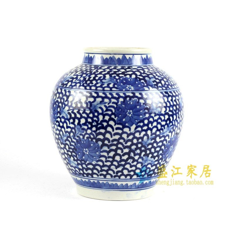 RYLU88青花罐子