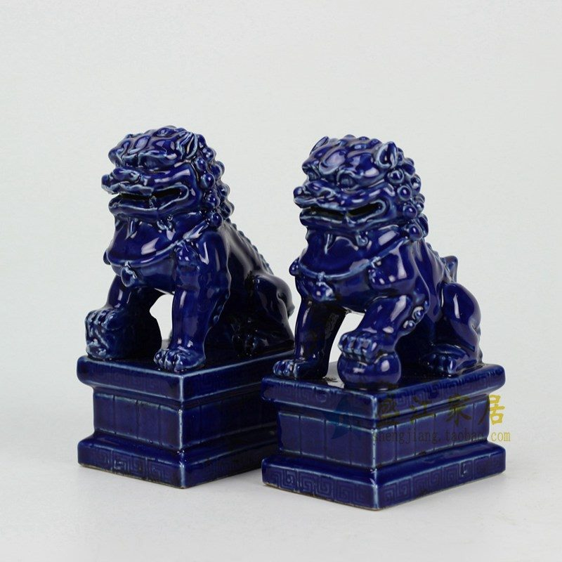 RYXP21-B-OLD 祭兰雕塑狮子