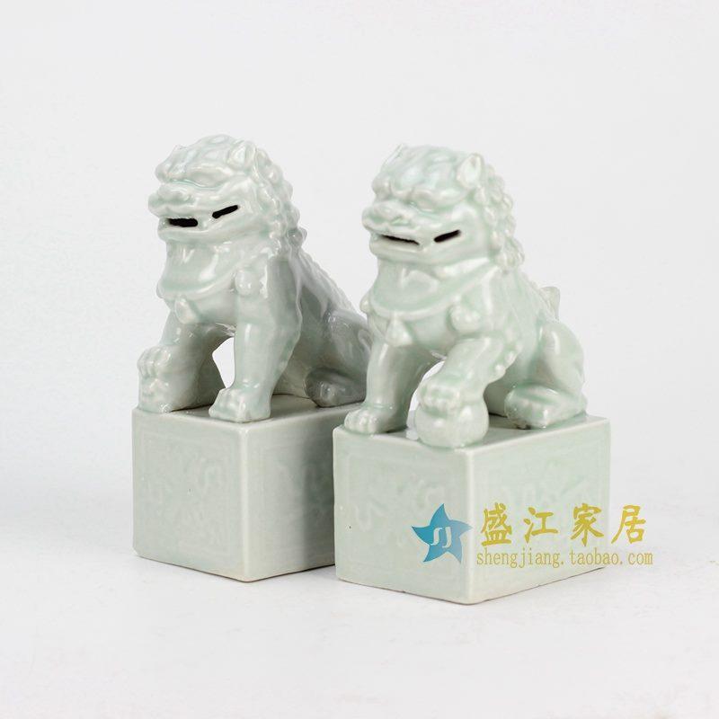 RYXP21-G 影清雕塑狮子