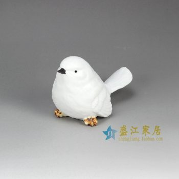 RZHP01 景德镇 雕塑动物 小鸟摆设品厂家直销