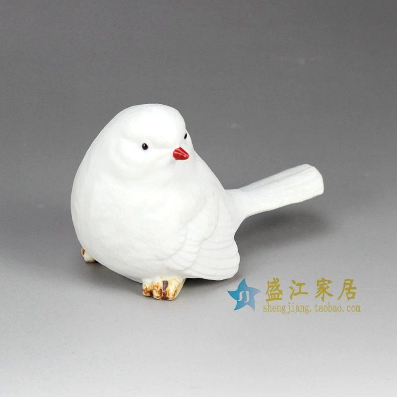 景德镇 雕塑动物 小鸟摆设品厂家直销