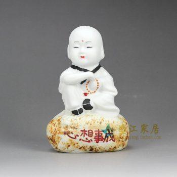 RZHP05雕塑  童子娃娃小孩子 小僧