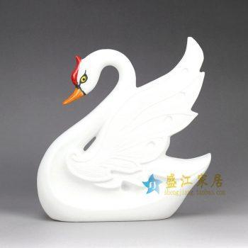 RZHP07 雕塑动物 大天鹅