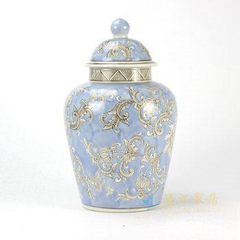 RYPU35 粉彩罐子