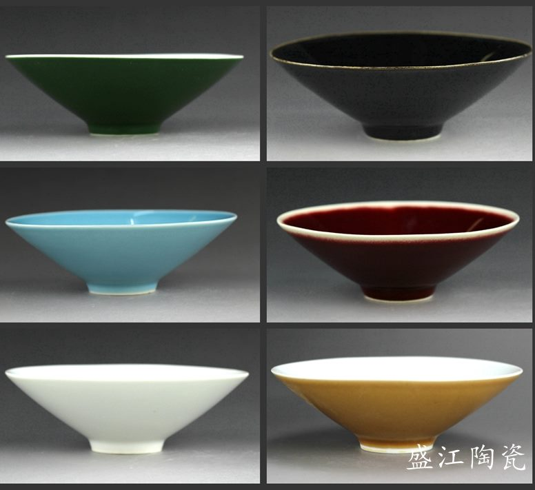 多种颜色可选 斗笠饭碗 茶碗