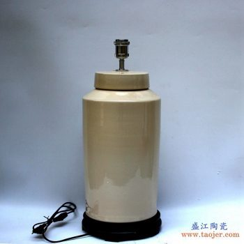 DS74-RYNQ  褐色陶瓷台灯