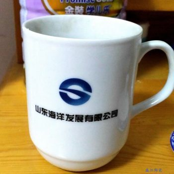 RYDI-DZ06定做定制陶瓷水杯 高白瓷
