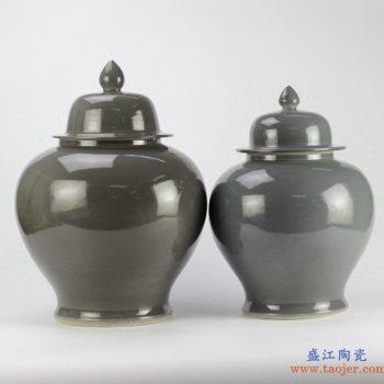 RYKB139   景德镇  颜色釉 将军罐  艺术花瓶 摆件品