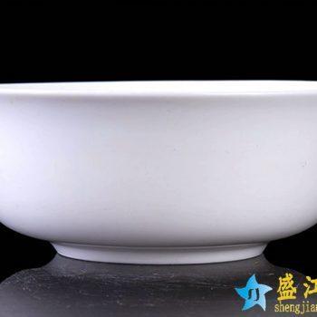 RZHY01-E  景德镇  6英寸高档骨瓷骨质瓷面碗 纯白