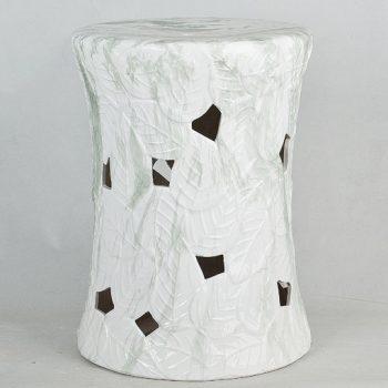 XY16-3290   景德镇  镂空中高温色釉陶瓷凳厂家直销淘宝