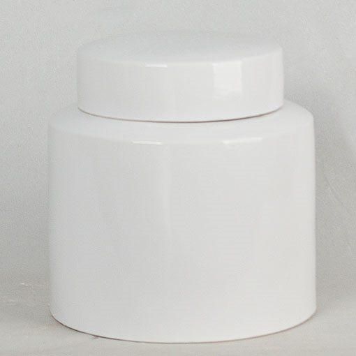 景德镇  全白   茶叶罐   茶叶末  储物罐