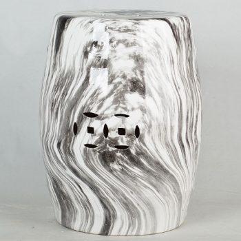 XY16-DSC_0092   景德镇  铜钱凳  经典传统凳大理石水墨纹路效果中高温陶瓷色釉瓷墩厂家直销