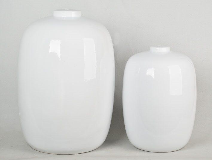 景德镇  全白  罐子 花瓶  摆件品