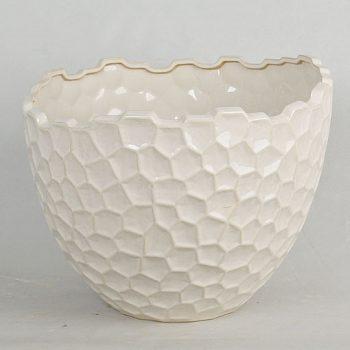 XY16-NB3419    景德镇 中高温色釉陶瓷花盆 花瓶  花缸 花插厂家直销淘宝盛江陶瓷