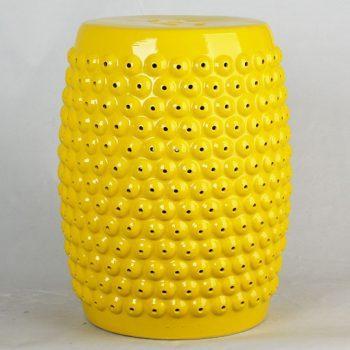 XY16-TS3221  景德镇  雕通色釉圆形陶瓷古凳花园凳家居客厅洗手间卧室厂家直销盛江陶瓷