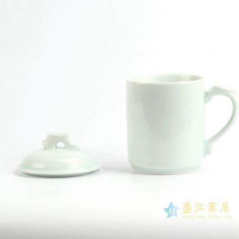 RZIC04 景德镇 青釉 龙头 办公杯 茶杯 厂家直销