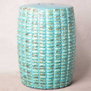 XY16-0709-6 (59)    景德镇 色釉做旧仿古新简约现代欧式陶瓷凳 凉墩 厂家直销