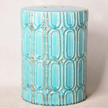 XY16-0709-6 (62)    景德镇  颜色釉  做旧 陶瓷古椅/陶瓷凳/陶瓷摆件