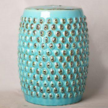 XY16-0709-6 (75)    景德镇 中高温破坏仿古做旧古典镂空陶瓷凳简约厂家直销