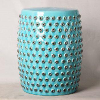 XY16-0709-6 (78)    景德镇 中高温破坏仿古做旧古典镂空陶瓷凳简约厂家直销