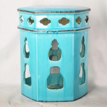 XY16-0709-6 (8)   景德镇 中高温破坏仿古做旧古典镂空陶瓷凳简约美式厂家直销