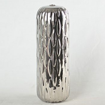 XY16-0709-8 (11) 景德镇 颜色釉镀银 现代简约 陶瓷台灯底座 厂家直销