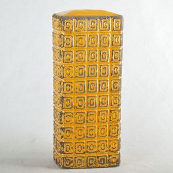 XY16-0709-8 (38)    景德镇 现代黄色方形   中高温色釉陶瓷仿古