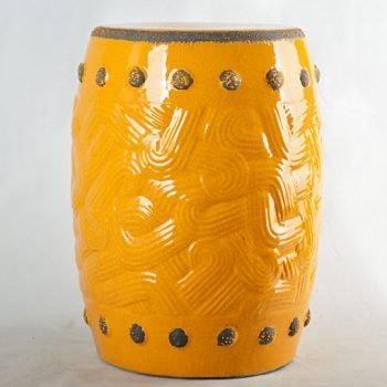 XY16-0709-8 (51)    景德镇 帝皇色龙 中高温破坏仿古做旧 中高温陶瓷凳简约美式厂家直销