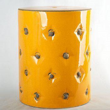 XY16-0709-8 (56)   景德镇 帝皇色中高温破坏仿古做旧 中高温陶瓷凳简约美式厂家直销