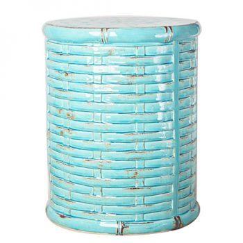 XY16-0709-cb 景德镇 竹子形状专业中高温陶瓷凳厂家直销