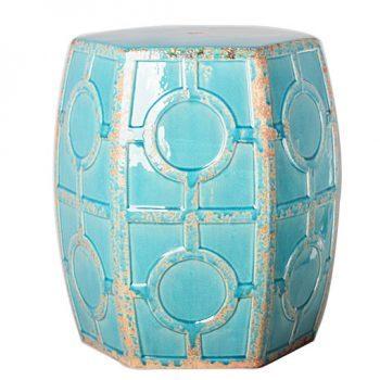 XY16-0709-gfd    景德镇 中高温色釉陶瓷凳室内室外摆设淘宝代发