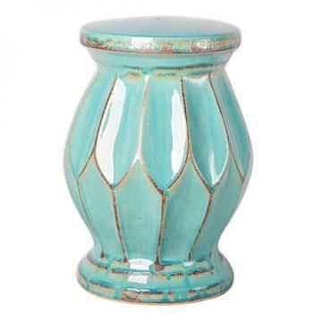 XY16-0709-gh   景德镇 中高温色釉陶瓷凳室内室外摆设淘宝代发