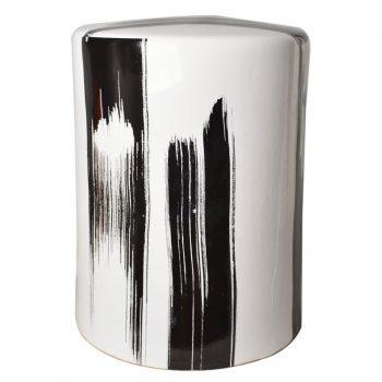 XY16-3349   景德镇 陶瓷凳子瓷墩花园凳中高温色釉厂家直销
