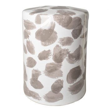 XY16-7   景德镇 圆形瓷墩中高温色釉陶瓷凳室内室外摆设