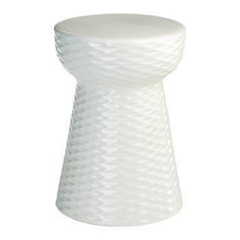 XY16-IW3205     景德镇 出口品质中高温色釉陶瓷凳花园凳厂家直销
