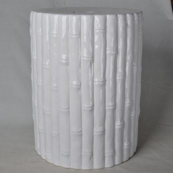 XY16-IW3303       景德镇  条纹竹子  中高温色釉陶瓷凳厂家直销