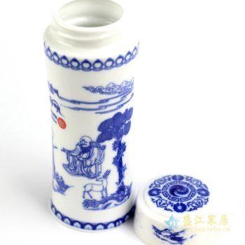 030-RZIN-1     景德镇  定做定制订制 青花 保温杯 茶杯   厂家直销