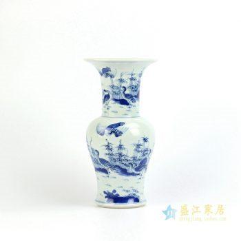 RYXN15    景德镇   仿古 手绘青花 花瓶   艺术摆件品