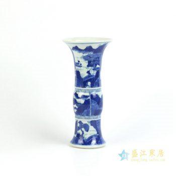 RYXN16      景德镇   仿古 手绘青花 花瓶  摆设品