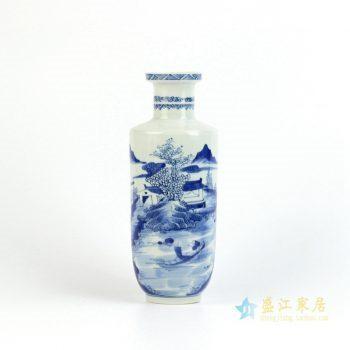 RYXN17      景德镇    仿古手绘 青花 花瓶   艺术摆件品