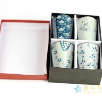 RZIO02   景德镇   日式 花卉 杯子 马克杯   厂家直销