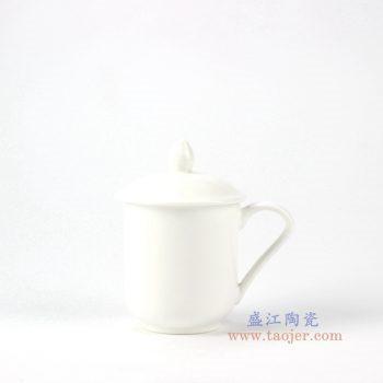 rydy34-a  景德镇 白瓷茶杯水杯单杯日用瓷