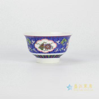 ryhz11-e-4 粉彩单碗 饭碗 景德镇厂家直销