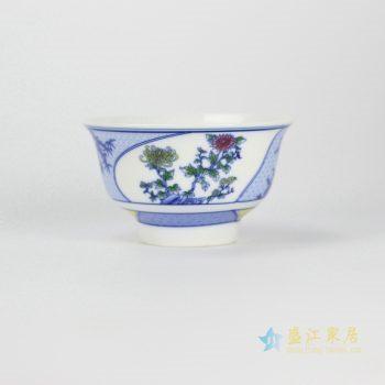 ryhz11-j-1 青花 粉彩饭碗 汤碗 厂家直销