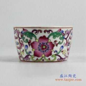 ryic31-g   粉彩小单杯 水杯  茶杯 景德镇厂家直销