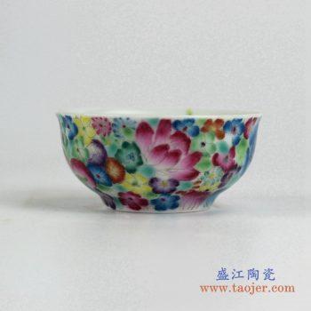 ryic33    粉彩小单杯景德镇茶杯水杯 厂家直销