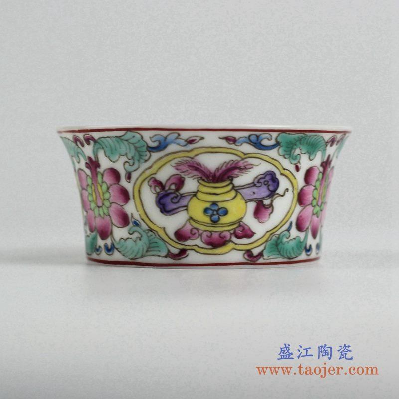 粉彩小单杯   茶杯水杯厂家直销  景德镇